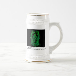3D Facial Scan Beer Stein