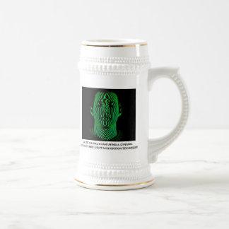 3D Facial Scan Coffee Mug