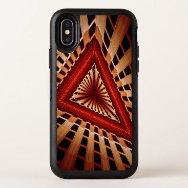 3D Fantasy Network Modern Fractal Graphic Design OtterBox Symmetry iPhone XS Case