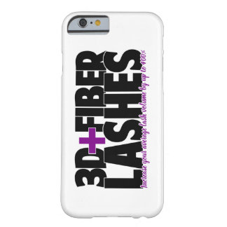 3D + Fiber Lashes Barely There iPhone 6 Case