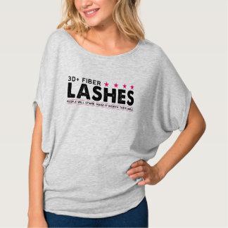 3D + Fiber Lashes T-Shirt