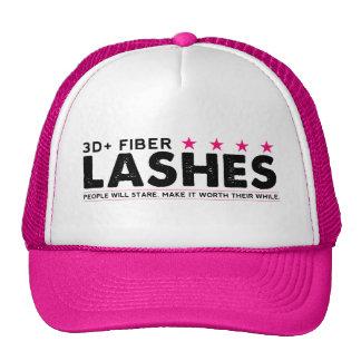 3d Fiber Lashes Trucker Style Hat