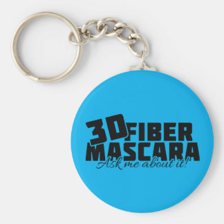 3D Fiber Mascara - Ask me about it Keychain