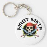 3D First Mate Keychain