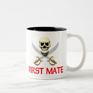 3D First Mate Two-Tone Coffee Mug