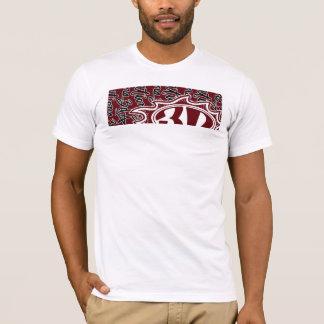3d Flame & Script T-Shirt