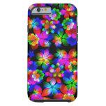 3D Flower illusion iPhone6 case by Valxart Tough iPhone 6 Case