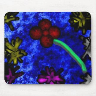 3D flower Mouse Pad