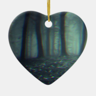 3D forest Ceramic Ornament