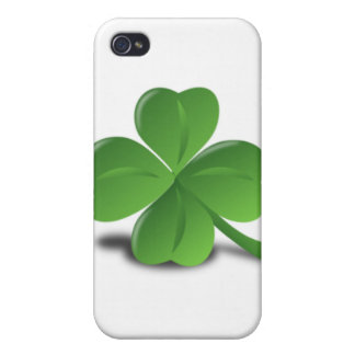 3D Four Leaf Clover iPhone 4/4S Cover
