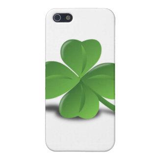 3D Four Leaf Clover iPhone SE/5/5s Cover