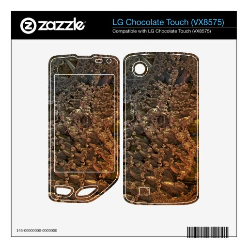 3d fractal 010 LG chocolate touch skin