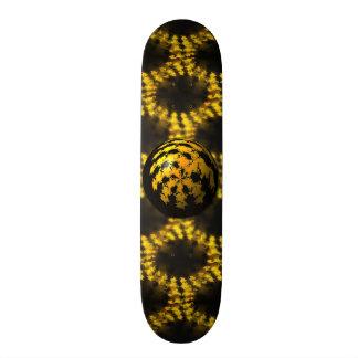 3d Fractal Ball Skateboard Deck