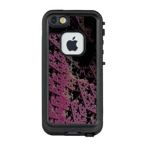 3D Fractal Geek Monogram personalized Case 2 Phone Case