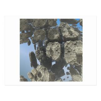 3D Fractal image postcard