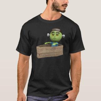 3d Frankenstein Awakes! T-Shirt