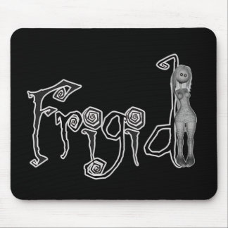 3D Freaky Bonga Doll Girl - Frigid Mouse Pad