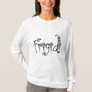3D Freaky Bonga Doll Girl - Frigid T-Shirt