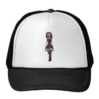 3D Freaky Bonga Doll - Redhead Trucker Hat