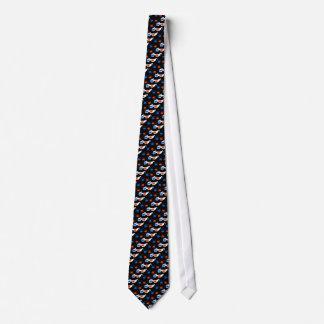 3D Glasses (black) Neck Tie