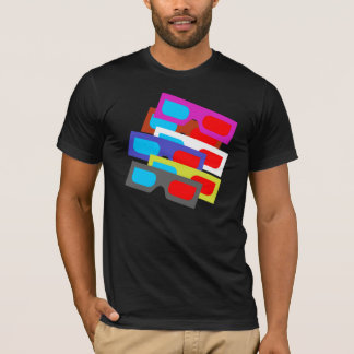 3D Glasses Colour Mix T-Shirt