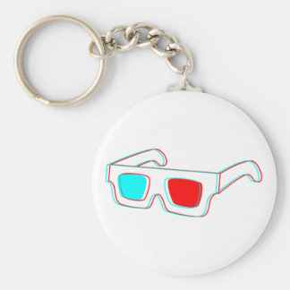 3D Glasses design - keychain