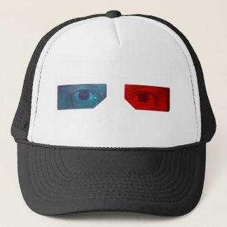 3D glasses hat