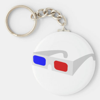 3d Glasses Keychain