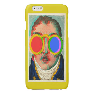 3D Glasses Shocked Face (True Anaglyph) Glossy iPhone 6 Case