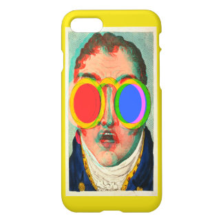 3D Glasses Shocked Face (True Anaglyph) iPhone 7 Case