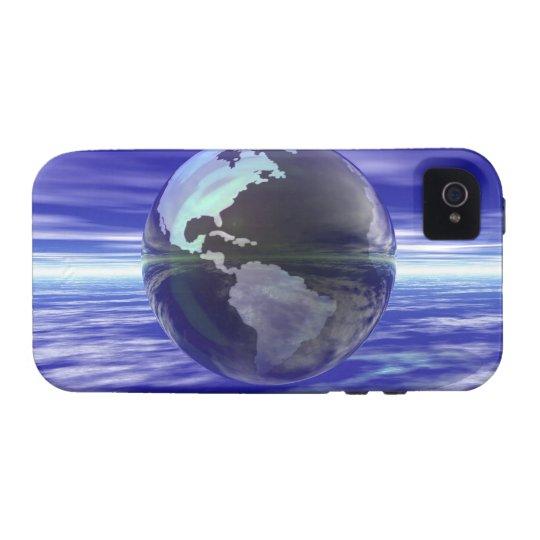 3D Globe 10 Case-Mate iPhone 4 Case