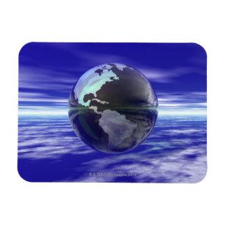 3D Globe 10 Magnet
