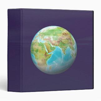 3D Globe 11 3 Ring Binder