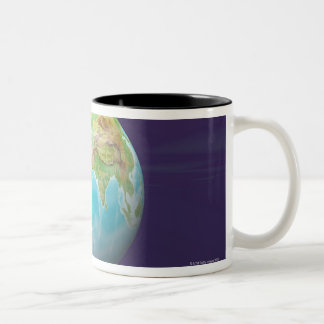 3D Globe 11 Coffee Mug