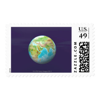 3D Globe 11 Stamps