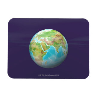 3D Globe 11 Rectangular Magnets