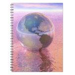 3D Globe 12 Note Book