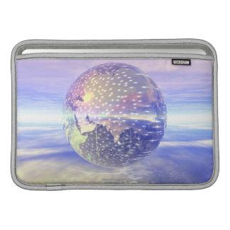 3D Globe 13 MacBook Sleeves