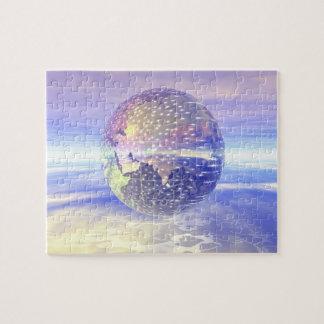 3D Globe 13 Jigsaw Puzzle