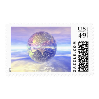 3D Globe 13 Stamps