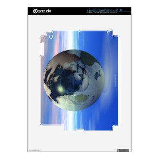3D Globe 15 iPad 3 Skins