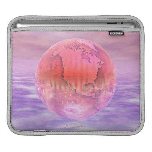 3D Globe 16 Sleeve For iPads