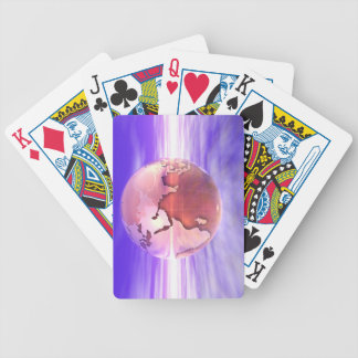 3D Globe 17 Bicycle Playing Cards