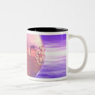 3D Globe 17 Coffee Mugs