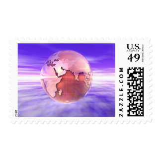 3D Globe 17 Stamps