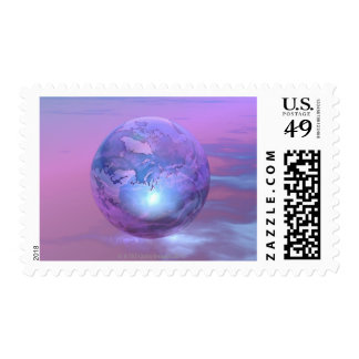 3D Globe 18 Stamps