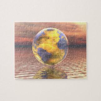 3D Globe 19 Jigsaw Puzzle