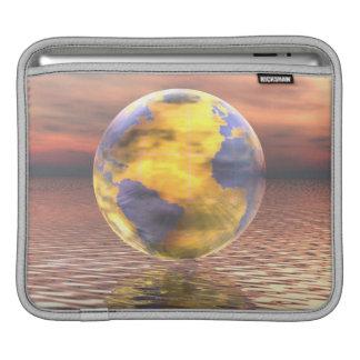3D Globe 19 Sleeve For iPads