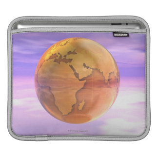 3D Globe 2 iPad Sleeve