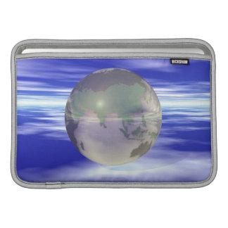 3D Globe 3 Sleeves For MacBook Air